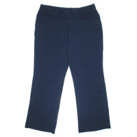Style & Co. Womens Plus Knit Flat Front Athletic Pants