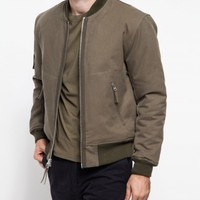 Our Legacy Bomber Jacket II Faded Olive