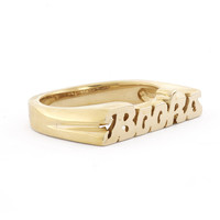 BOOKS RING - SNASH JEWELRY