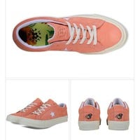 Nike Converse One Star x Golf le Fleur 159434C Pink Men WoMensneaker Sport Shoes
