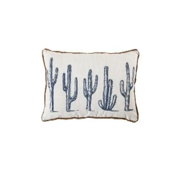 Cowgirl Kim 5 Cactus Accent Pillow