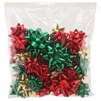 Red/Green/Gold Gift Bow Bag 20ct - Wondershop™