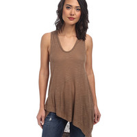 Free People Nicest Slub Rib Washed Ashore Tank Top Birch - Zappos.com Free Shipping BOTH Ways