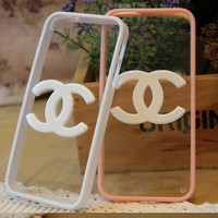 Clear charm case iphone 4s case iphone 4 cover iphone 5 case iphone 5s case iphone 5c case samsung galaxy S3 S4 case Galaxy Note case