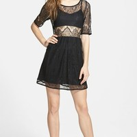 Women's MINKPINK 'Meet Me in St. Louis' Embroidered Dress,