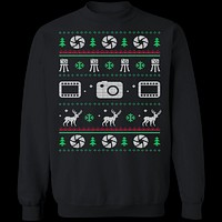Photography Ugly Christmas Sweater