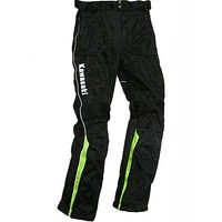MOTO WEAR Pants For Kawasaki Team Green Racing Dirt Bike