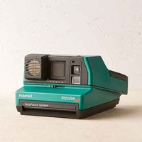 Impossible Green Impulse Rare Polaroid Camera