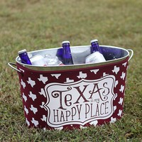 Texas A&M Beverage Tub with Reversible Cover