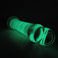 Magic Wand - Glow in the Dark Glass Sex Toy