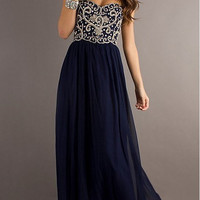 Charming New Style Bead Strapless Prom Dresses / Evening Dresses