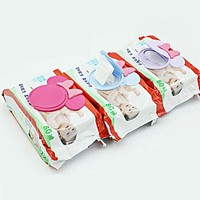 1Pc Colorful New Baby Wet Paper Lid Wet Wipes Cover Wet Tissue Reusable Lid