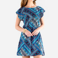 MARLEE PRINTED DRESS