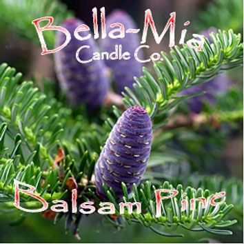 Balsam-Pine Natural Hand Poured Soy Candles