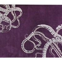 One Kings Lane - Modern Nomad - Octo Rug, Purple