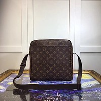 LV Louis Vuitton MEN MONOGRAM CANVAS INCLINED SHOULDER BAG