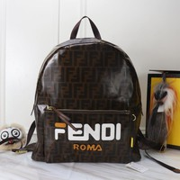 Fendi Leather Backpack Bag #3001 - Best Deal Online