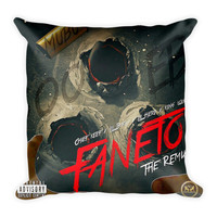 Faneto (16x16) All Over Print/Dye Sublimation Chief Keef Couch Throw Pillow Insert & Pillow Case/Cover