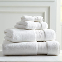 Luxe White Washcloth