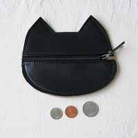 Cat Coin Pouch/ Wallet