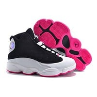 Nike Kids Air Jordan 13 Retro 696298-023 Sneaker Shoe US 11C - 3Y-3