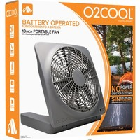 O2COOL 10 inch Battery or Electric Portable Fan - Walmart.com