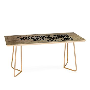 Leah Flores Everywhere Coffee Table