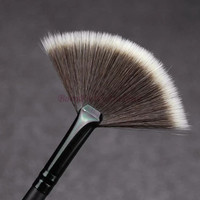 Slim Fan Shape Powder Concealor Blending Finishing Makeup Brush Nail Art Brush