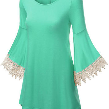 Cupshe Come With Me Lace Splicing Top