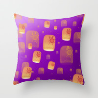 DREAM  Throw Pillow by Lauren Lee Designs