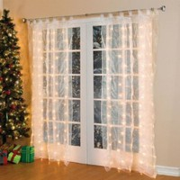 Brylanehome Pre-Lit Curtain Panel:Amazon:Home & Kitchen