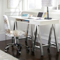 Customize-It Project Metal A-Frame Desk