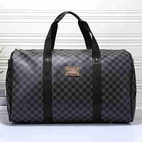 LV Louis Vuitton Travel Bag Leather Tote Handbag Shoulder Bag