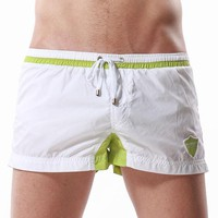 Hot sale New Style sexy Men of low waist shorts for fitness Super light quick-drying shorts men's training hot pants