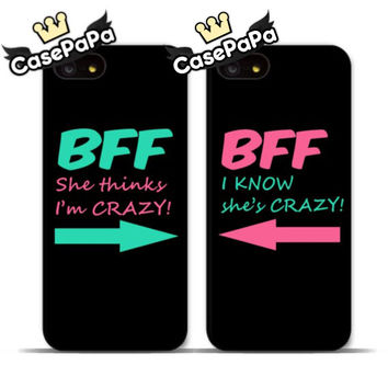 2 PC BFF Case For iPhone 6 6 Plus 5 5s 4s 5C For iPod 5 4