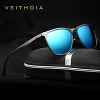 Vintage Sunglasses Ultra-thin Aluminum Magnesium Polarized Men Sunglasses Glasses Mirror Fishing Sun Glass Male Driving Glasses