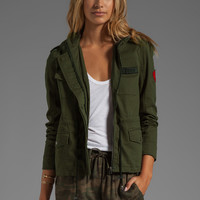 Lovers + Friends for REVOLVE Jane Cargo Jacket in Olive