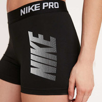 """Nike Pro Cool Graphic 3"""" Training Short - Urban Outfitters"""