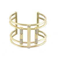 House of Harlow 1960 Jewelry Defined Deco Cuff