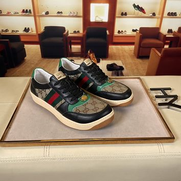 Gucci 2021Men Fashion Boots fashionable Casual leather Breathable Sneakers Running Shoes06160dp