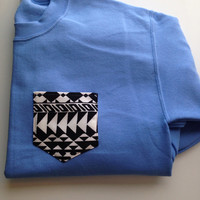 SMALL Ready to Ship Crew Cut Sweatshirt with Pocket