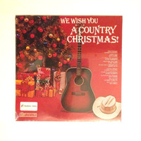 Rare Sealed Vinyl Record We Wish You A Country Christmas LP Album Tammy Wynette Ray Price Jim Nabors