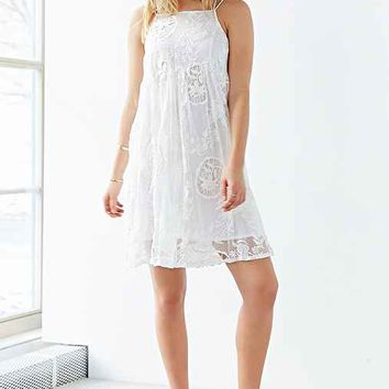 Little White Lies Hollie Dress- White