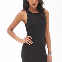 FOREVER 21 Ribbed Knit Bodycon Dress