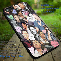 Supernatural Jensen Ackles Collage iPhone 6s 6 6s+ 5c 5s Cases Samsung Galaxy s5 s6 Edge+ NOTE 5 4 3 #movie #supernatural #superwholock #sherlock #doctorWho dt