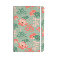"Zara Martina Mansen ""Wild Gatherings"" Green Coral Everything Notebook"
