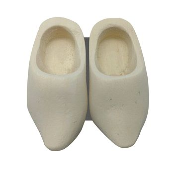 Wooden Shoes Magnetic Gift Natural