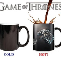 stark Mugs winter is coming Color