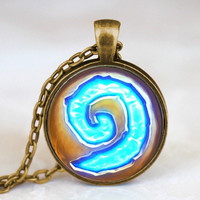 Steampunk Triple Moon Goddess World of Warcraft Hearthstone Pendant Necklace doctor who 1pcs/lot chain mens new jewelry womens