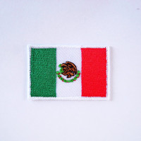 Flag of Mexico/ Patch/Iron on Patch/Applique/Embroidery